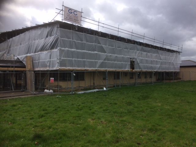 Ice Roofing & Cladding - Barnwell Health Centre